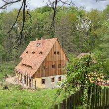 Ehemalige Golberoder Mühle im Gebergrund