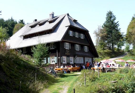 """Gasthaus zur """"Schwedenschanze"""" Rohrhardsberg"""