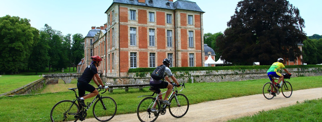 Sortie vélo dans l'Essonne - Autour de Chamarande