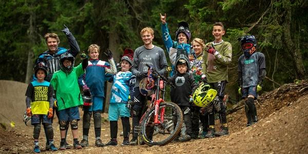 Thomas Genon mit Bikepark Kids