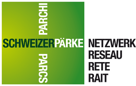 Logo Netzwerk Schweizer Pärke