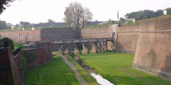 Zitadelle Jülich - Grabenanlage