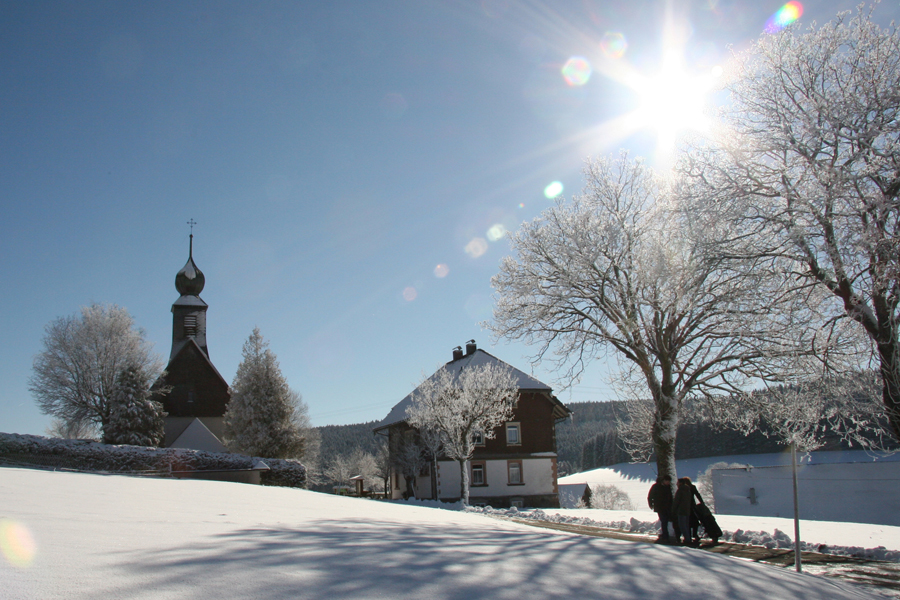 Winter in Eisenbach/Schollach