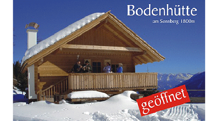 Bodenhütte am Staller Sonnberg