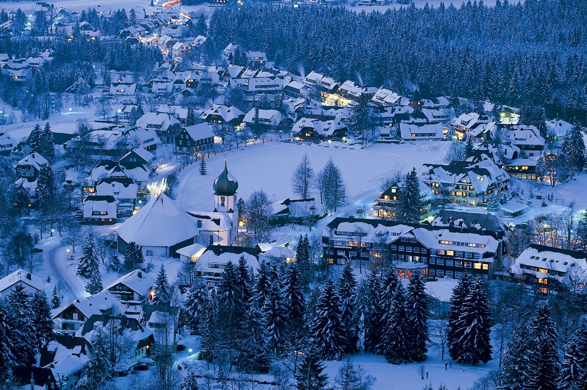 Hinterzarten im Winter