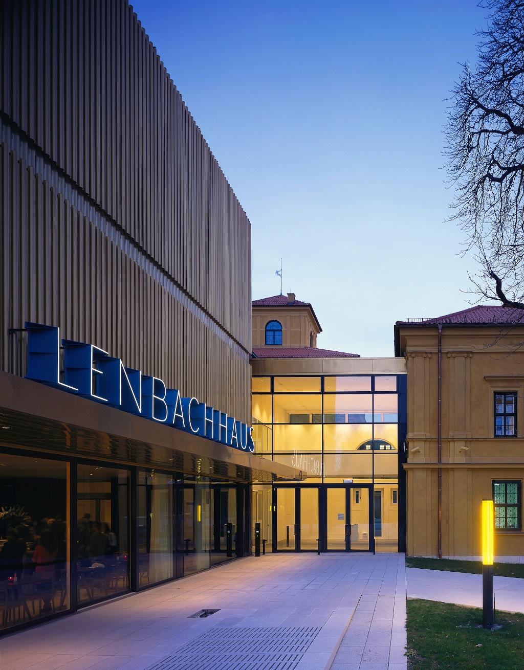Städtische Galerie im Lenbachhaus und Kunstbau ()