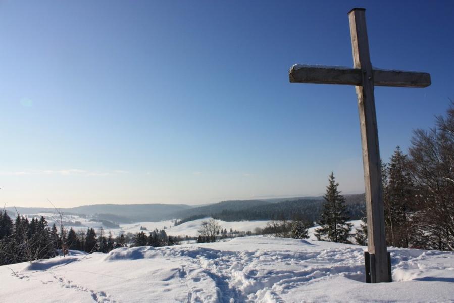 Winter - Ibach: Wintertour Nr. 5 Ibacher Panoramaweg