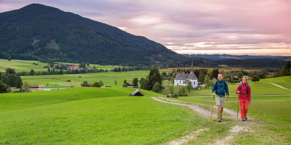 Meditationsweg bei Unterammergau