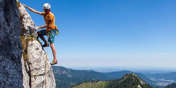 Einsteigerkurs Alpinklettern – Kampenwand im Chiemgau