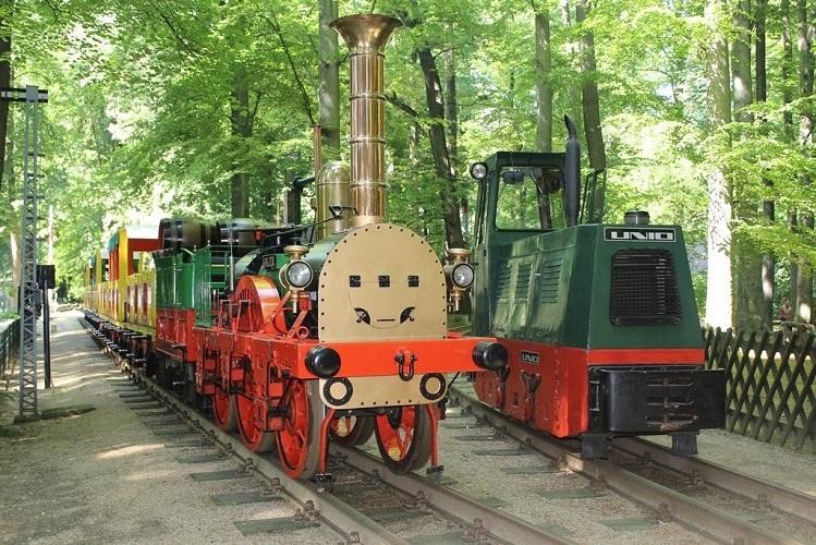 Görlitzer Oldtimer - Parkeisenbahn