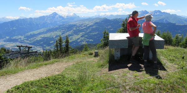 Aussichtspunkt Bergstation Feldis-Mutta