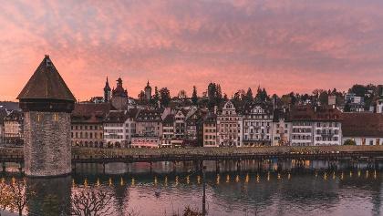 Kapellbrücke und Wasserturm Luzern