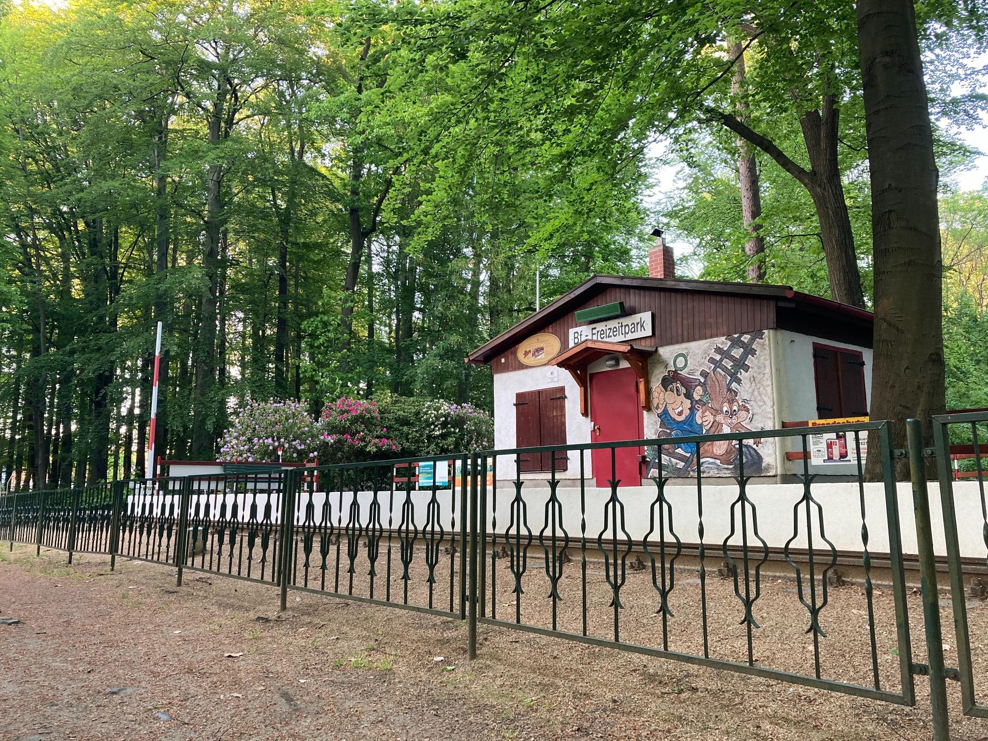 Görlitzer Oldtimer-Parkeisenbahn