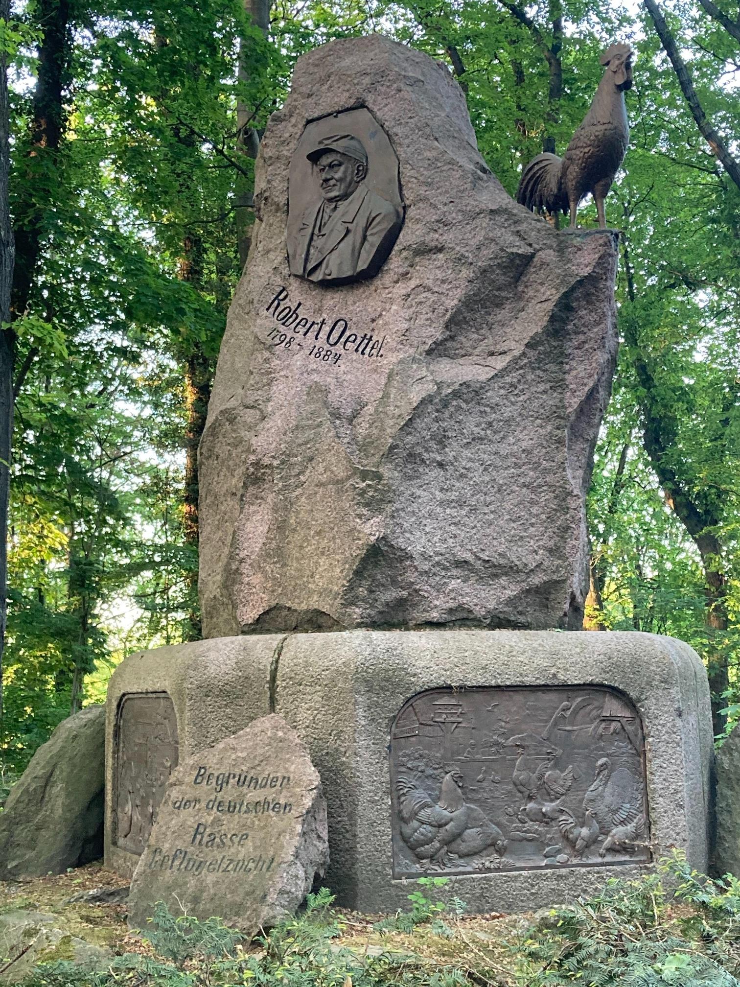 Robert-Oettel-Denkmal, Görlitz