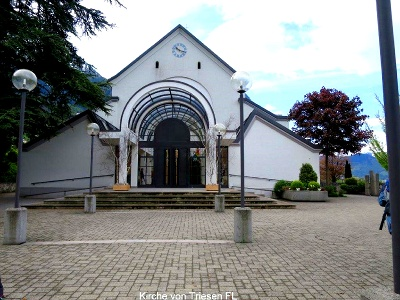 Kirche in Triesen FL