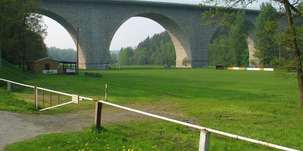 Autobahnbrücke Weißensand