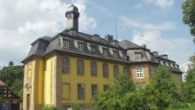 Schloss Liebenburg, kleine Golfplatzrunde