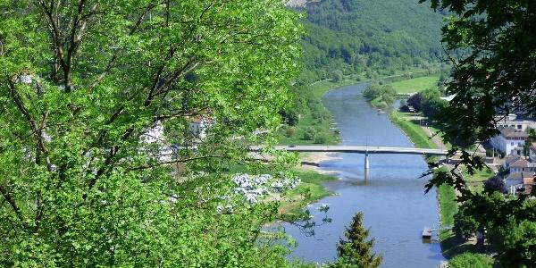 Weser bei Karlshafen