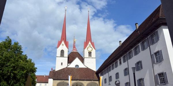 Kloster Muri, Start- und Endpunkt
