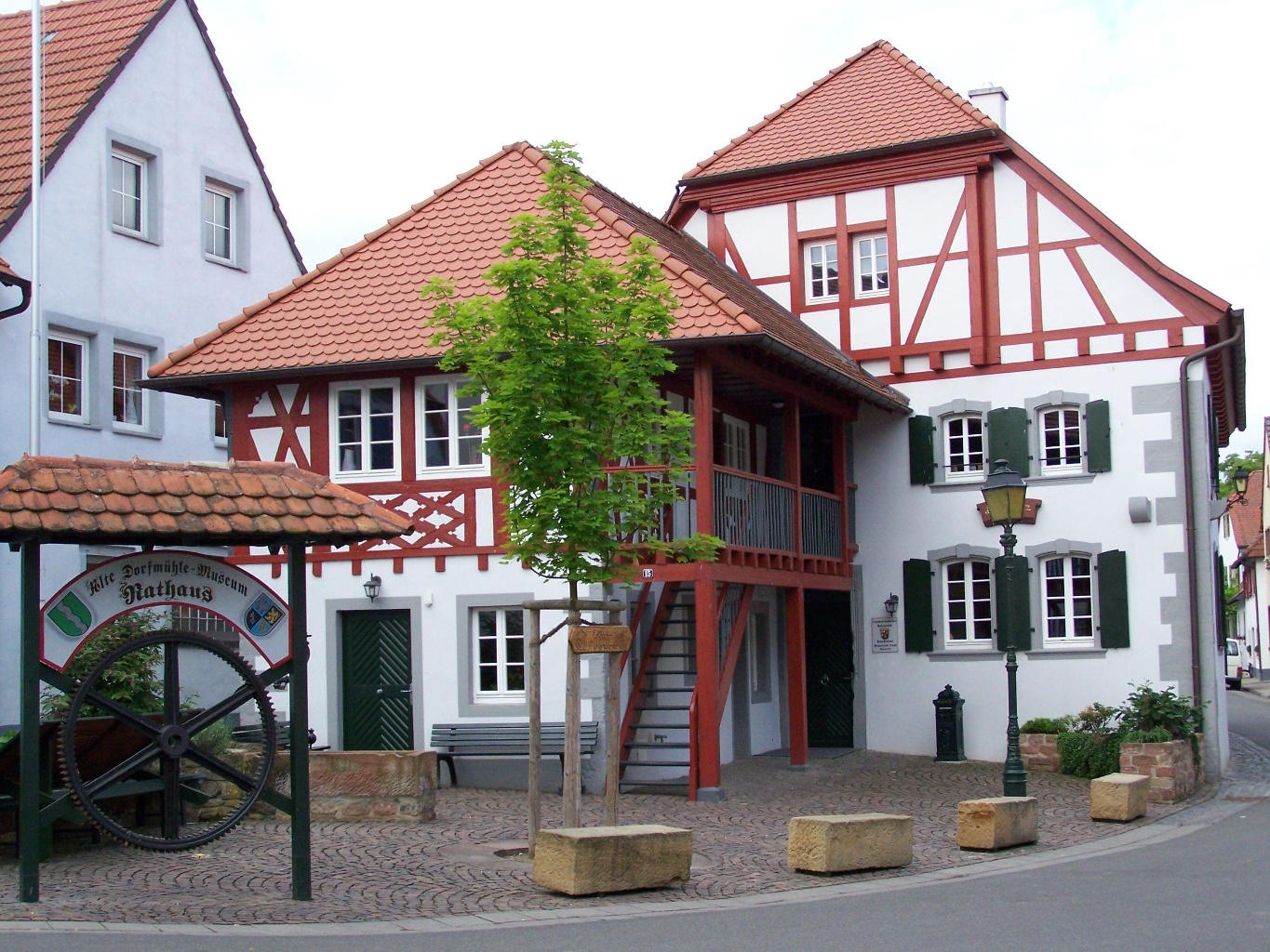 Mühle Großkarlbach - Mühlenmuseum (Dr. Peter Dell)