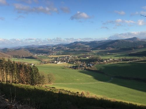 """Naturnahe Wanderung um """"Kehlberg"""" und """"Odin"""" in Hellefeld"""