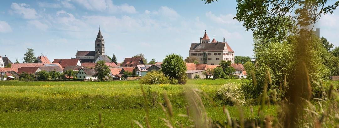 Galluskirche und Schloss Brenz