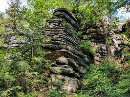 Foto Interessante Felsen in den Affensteinen