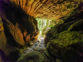 Foto Der Tunnel in der Wolfsschlucht