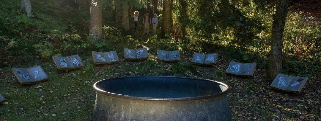 Hexenplatz WaldSkulpturenWeg