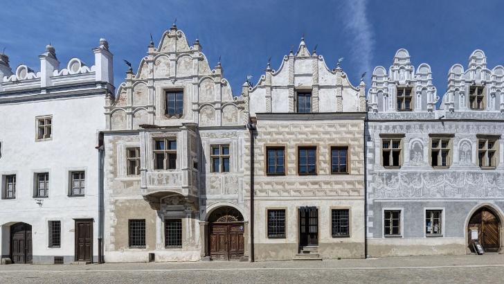 Renaissance buildings in Slavonice