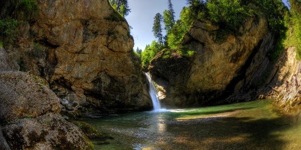 Die Buchenegger Wasserfälle