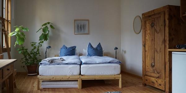 Pension zum Hirschstein - Schlafzimmer