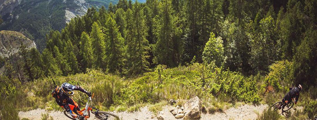 VTT dans les Pyrénées-Orientales