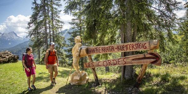 Klettersteig Les Cordes