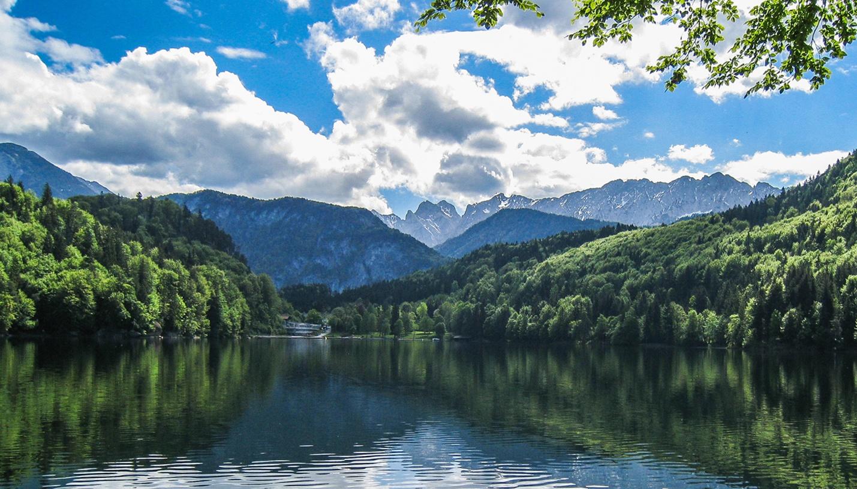 Hechtsee mit Kaisergebirge