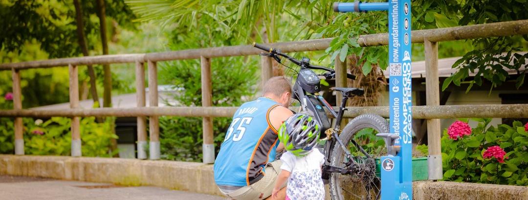 Bike Stop Garda Trentino - Mantis