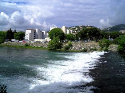 La Siagne: bis hierher vom Meer her schiffbar