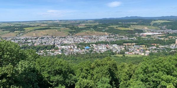Aussicht vom Neuenahrer Berg