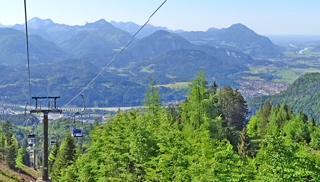 Kaiserlift_Bergfahrt_Blick ins Inntal_Kufstein_Kiefersfelden