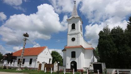 Adorjás, református templom