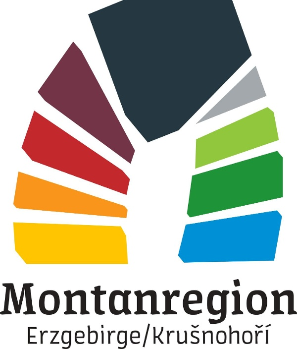 Logo UNESCO - Welterbe / Montanregion Erzgebirge/Krušnohoří