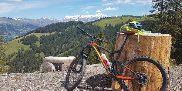 Biken mit Aussicht Rona