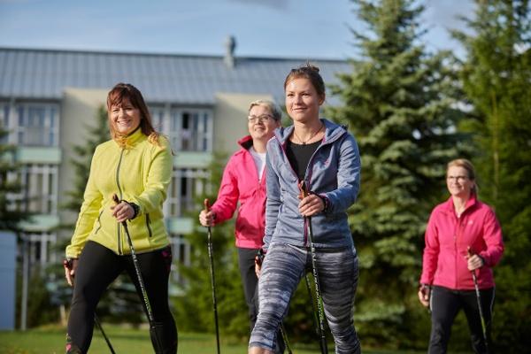 Nordic Walking - Fachklinik & Gesundheitszentrum Raupennest