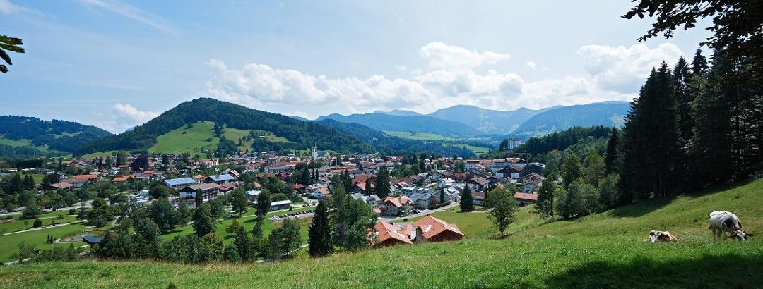 Ortsansicht Oberstaufen