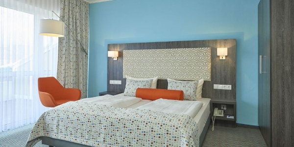 Doppelzimmer Trans World Hotel Auefeld