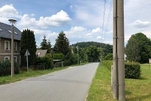 Foto Weg vom Bahnhof nach Stolpen