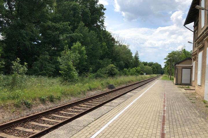 Foto Bahnhof Stolpen