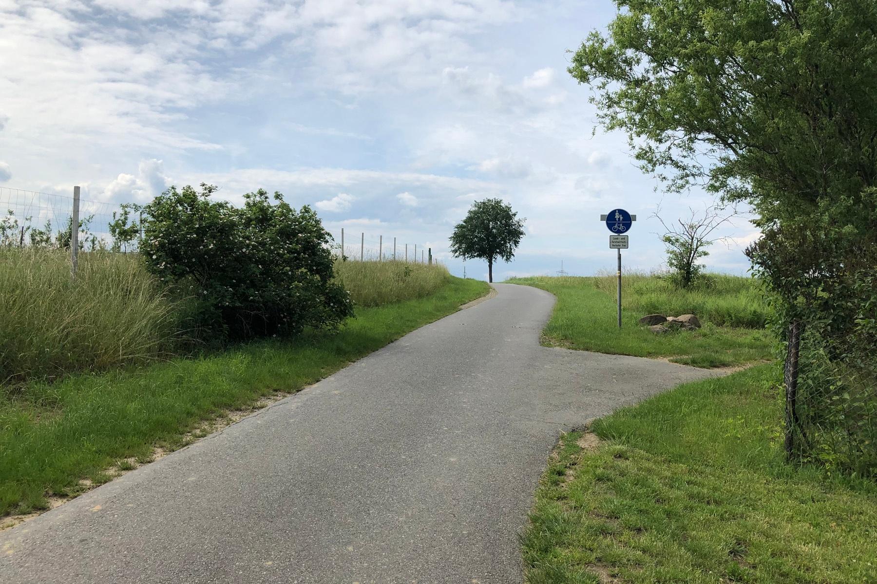 Bischofsweg von Stolpen nach Rennersdorf-Neudörfel