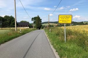 Foto Ortseingang Lauterbach