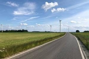 Foto Straße von Lauterbach nach Langenwolmsdorf